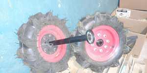 Грунтозацепы, плуги и колеса для мотоблоков