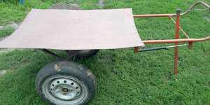 Тачанка тележка для дачи деревни