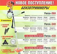 Бензокоса, бензотриммер, триммер, мотокоса Форза