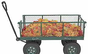 Тележка садовая на 4-х колесах Швеция