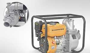 Carver CGP 5580D Насос бензиновый для грязной воды