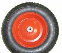 Новые колеса для садовой тачки