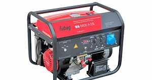 Бензогенератор fubag BS 6600 A ES 6.5кВт