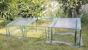 Теплица садовая складная
