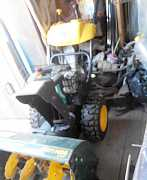 Снегоуборочник Yardman YM7110DE