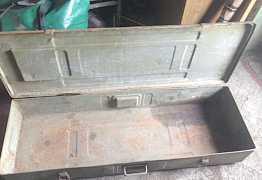 Ящик военный металлический