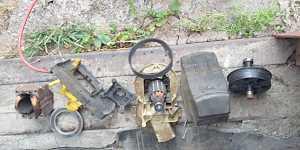 Гзонокосилка bosch rotak 37 Сгорел ротор-якорь
