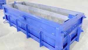Фундаментный блок+ форма для производства