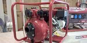 Мотопомпа пожарная-высоконапорная мп 500 бф