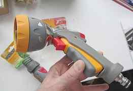 Пистолет распылитель hozelock насадка полива на шл