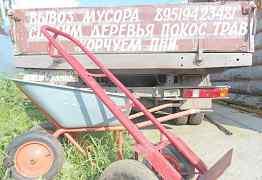 Телега и тачка на Луначарского 135