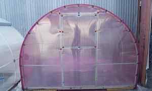 Каркасы 3x2.1x4 метра для теплиц