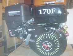 Двигатель brait 170F (7л. с., вал 19мм или 20мм)