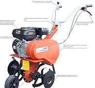 Мотокультиватор Лесник реверс двиг 6.5 л с