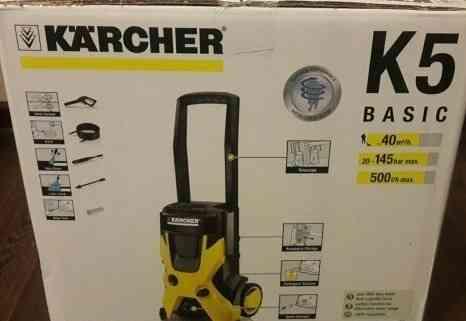 Минимойка Karcher K5 Basic новая с гарантией