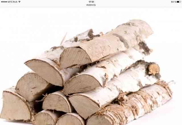 Дрова для дома, бани, камина