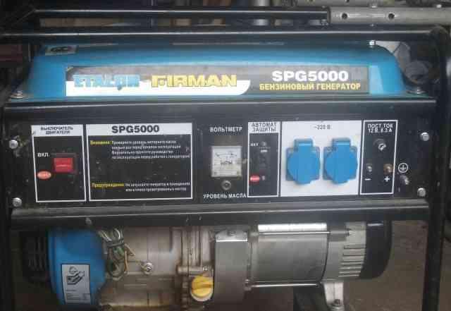 Бензиновый генератор Etalon SPG 5000