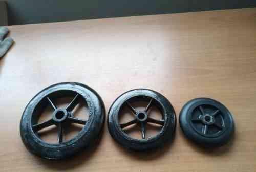 Литые чугунные колёса