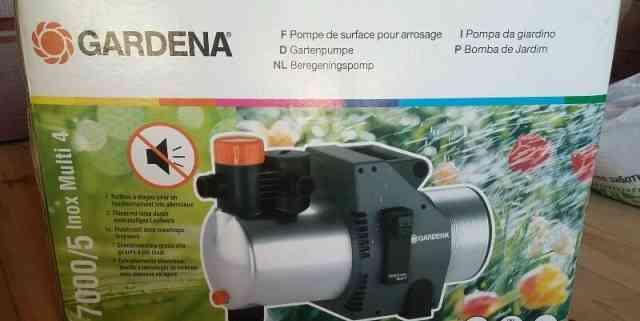 Продаю насос gardena модель7000/5 Inox Мульти 4