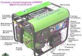 Продам новый газовый генератор 5.2 квт