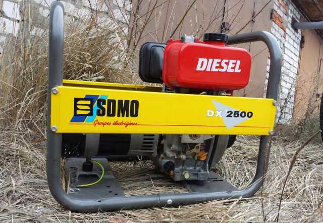Новый дизельный генератор sdmo 2кВт, мотор япония