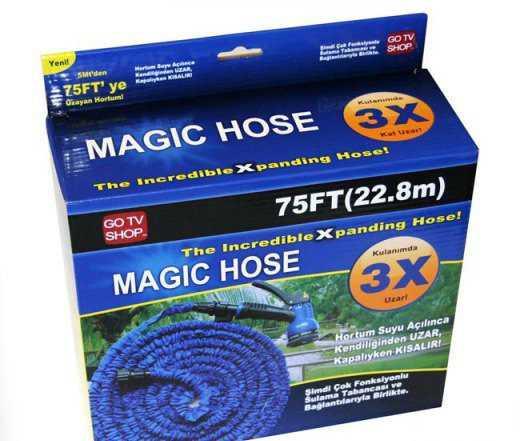Шланг для полива Мэджик hose 15 м, 22.5 м, 30 м