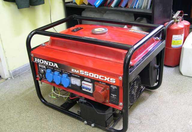 Бензиновый генератор Хонда EM5500CXS