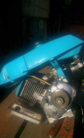 Двигатель от культиватора Крот