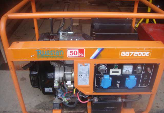 """Газовый генератор """"GG 7200"""""""