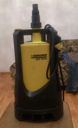 Насос грязной воды (karcher Sdp14000) новый идеаль