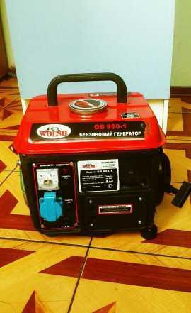 Бензиновый генератор wolsh GB 950-1