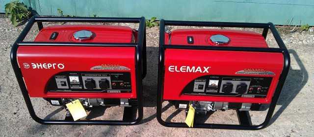 Генератор бензиновый 2.6кВт, made in Japan