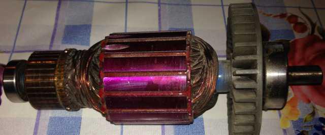 Ротор двигателя электропилы sturm cc9920, cc9922