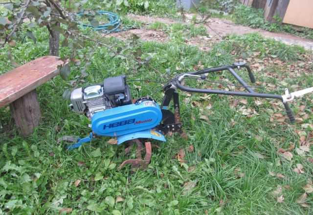 Культиватор мк-100-04 Нива мини с двигателем Хонда