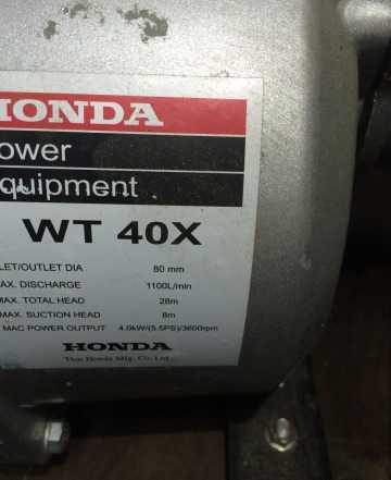 Мотопомпа Хонда WT40Х