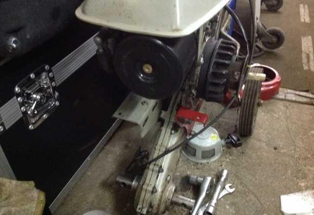 Двигатель культиватора крот