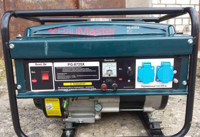 Генератор бензиновый PG-8725X продам