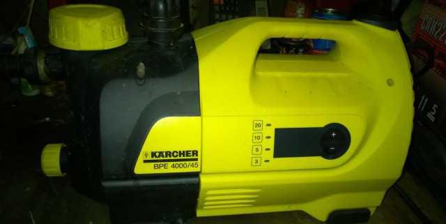 Насосная Станция водоснабжения Karcher BPE 4000/45