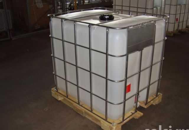 Пластиковый куб для воды - 1000 м.3