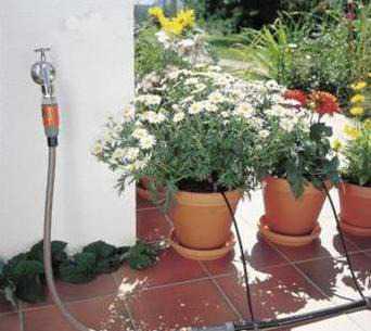 Gardena 1402 капельный полив новый