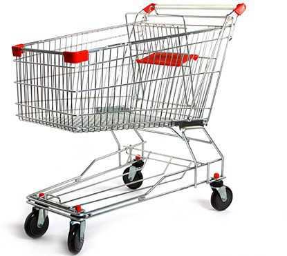 Тележка из супермаркета 2 шт бу