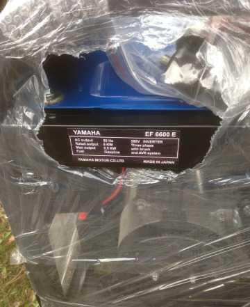 Бензогенератор ямаха EF 6600 E Трёхфазный 380 В