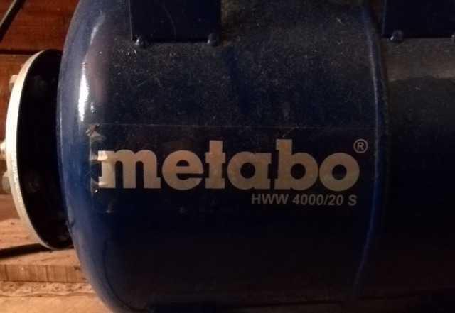 Насос Metabo HWW 4000/20s