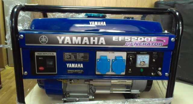 Генератор ямаха EF5200E бензин новый