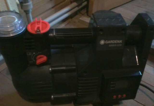 Напорный автоматический насос Gardena 5000/5 LCD C