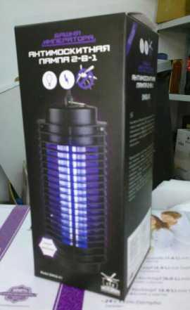 Антимоскитная лампа (новая)