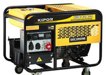 Бензиновый генератор Kipor 12 E
