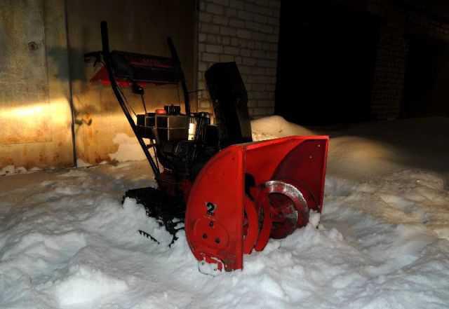 Снегоуборщик MTD гусеничный