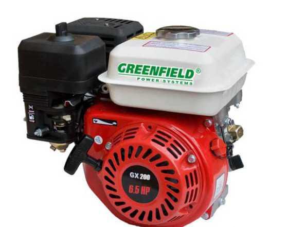 Бензиновый двигатель green field GF 168 F-1