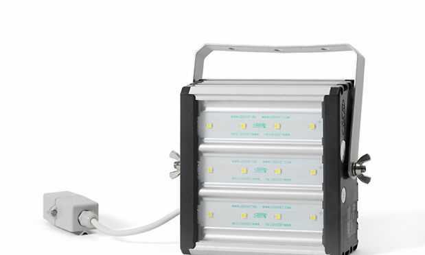 Светодиодный цветной светильник-прожектор пс 3